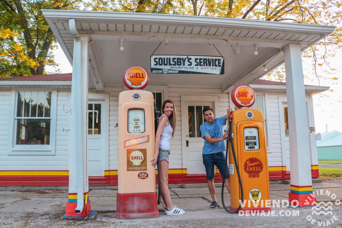 Gasolinera Shell   Ruta 66
