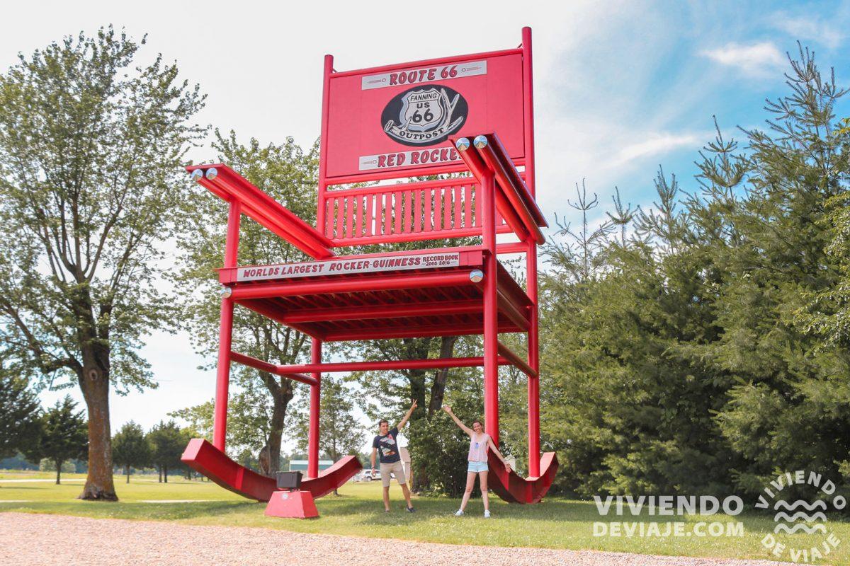 Red Rocker, el segundo balancín más grande del mundo en Fanning