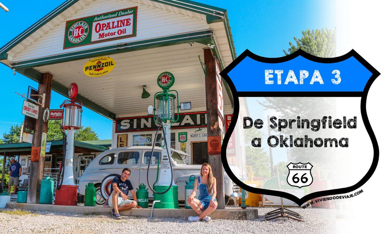 Ruta 66 etapa 3, de Springfield a Oklahoma