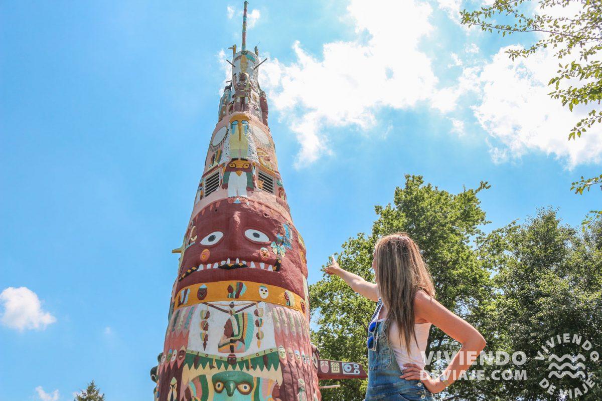 Totem Pole Park | Ruta 66