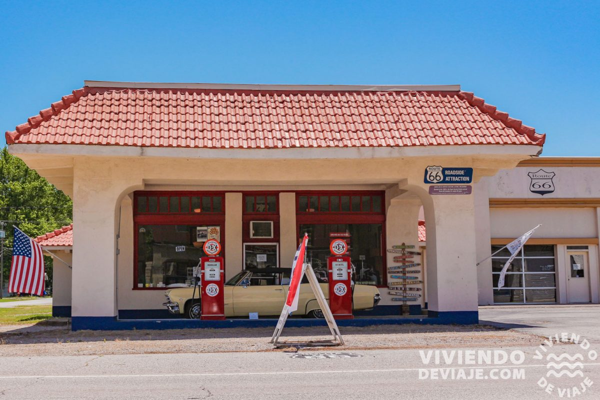 Ruta 66 | Afton Station