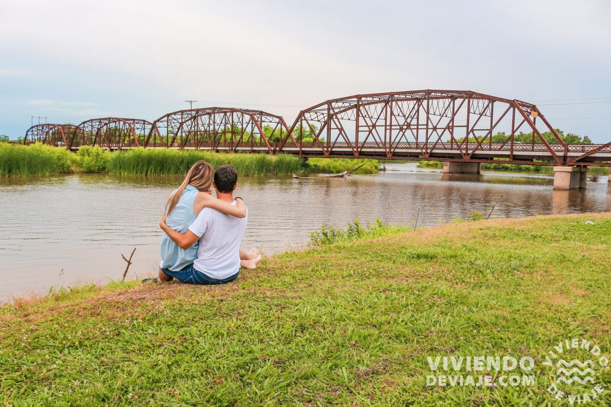 Lake Overholser Bridge | Ruta 66