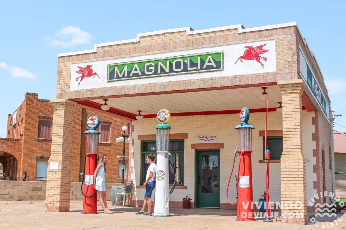 Gasolinera Magnolia | Ruta 66