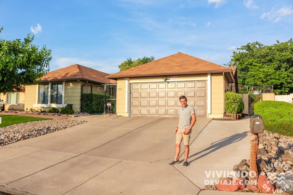 La casa de Walter White en Albuquerque | Ruta 66