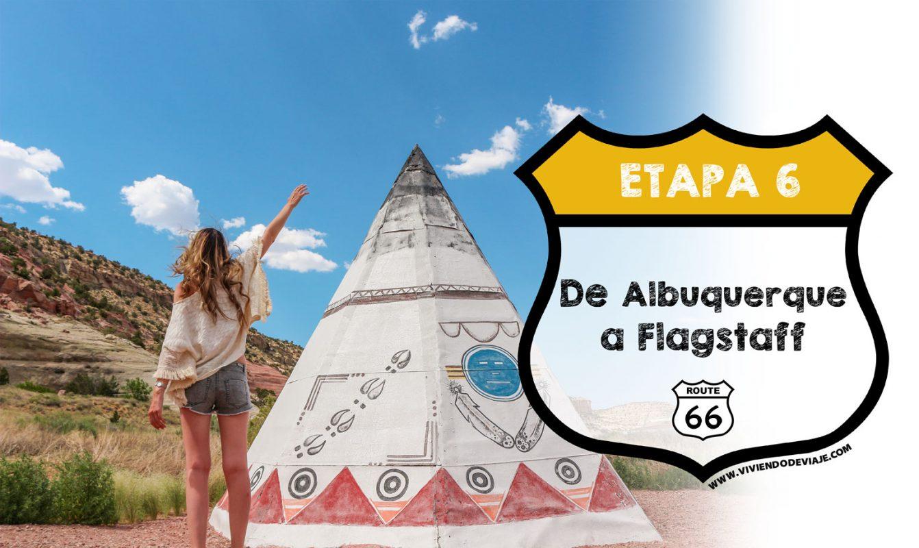 Ruta 66 etapa 6, de Albuquerque a Flagstaff