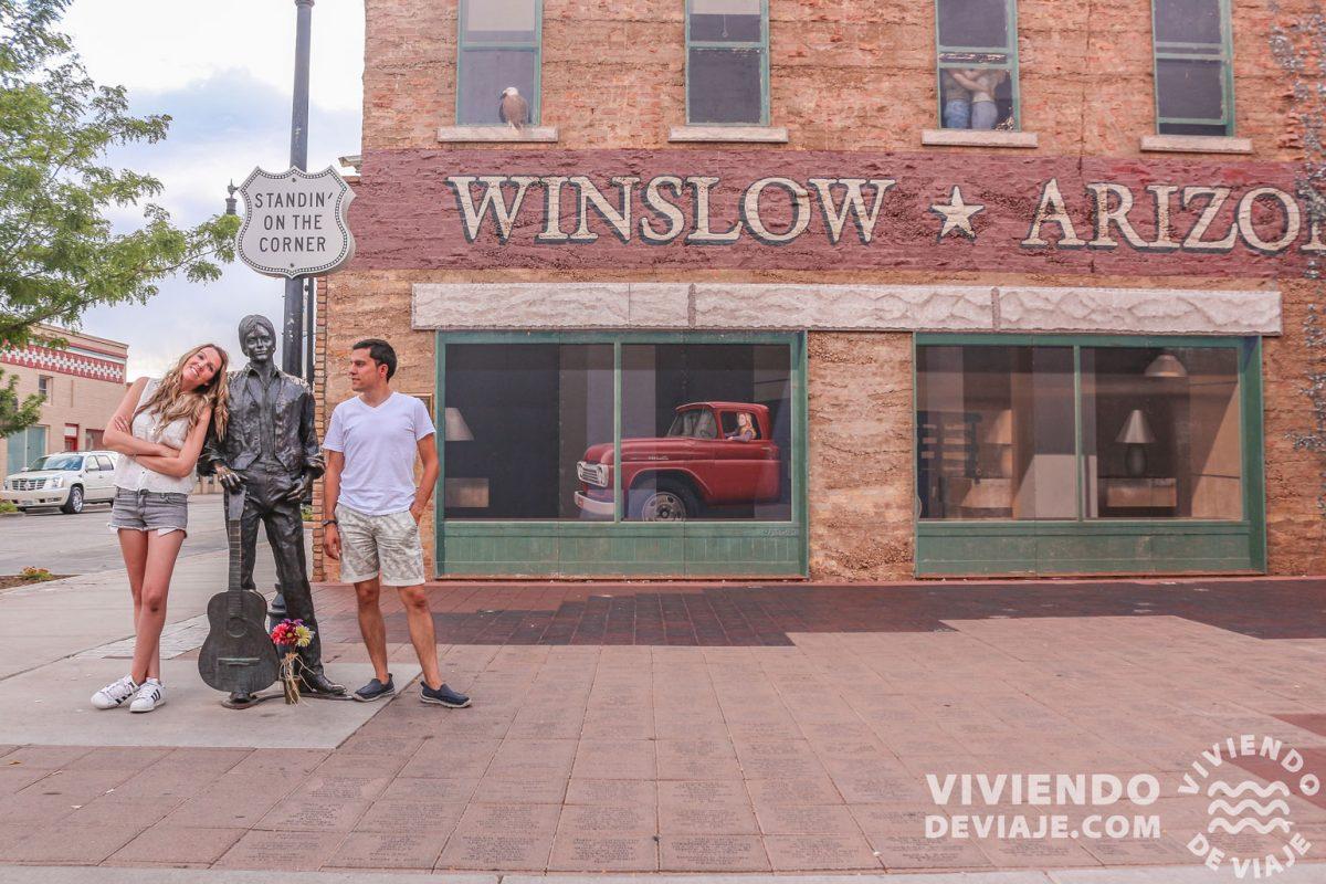 Standin' on the Corner | Winslow, Ruta 66