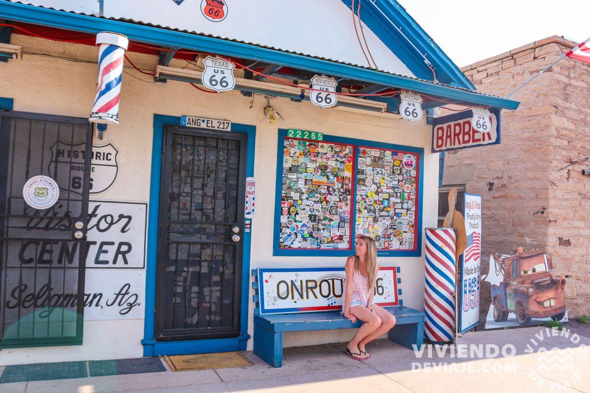 Angel's Barbershop, Seligman | Ruta 66