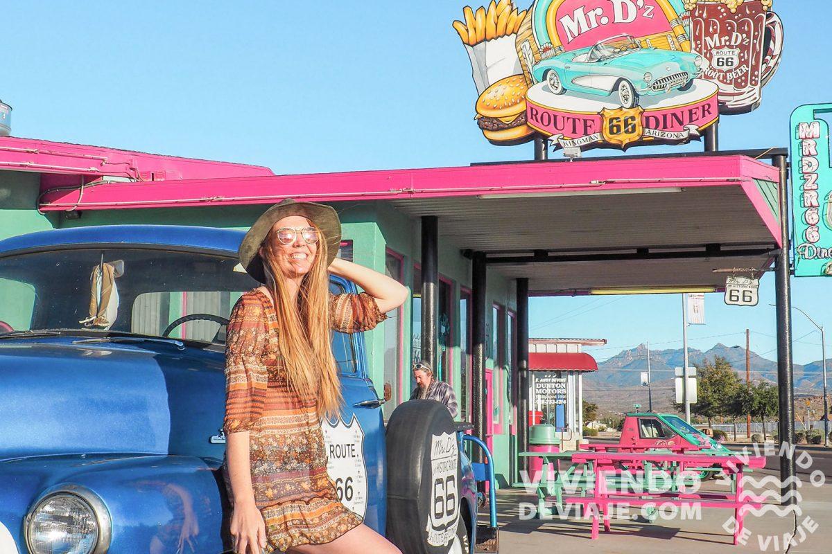 Mr. D' z Diner en la Ruta 66