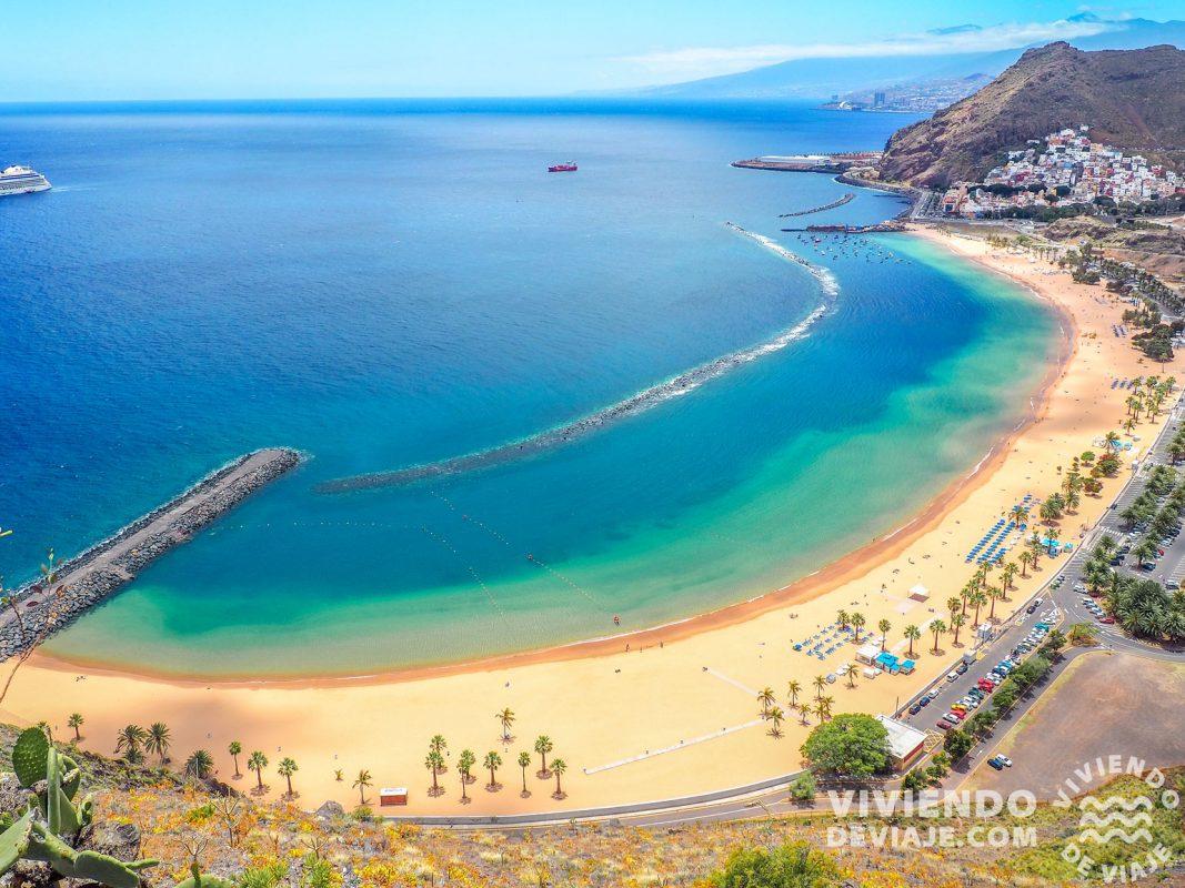 Playa de las Teresitas | Ruta por Tenerife en 7 días