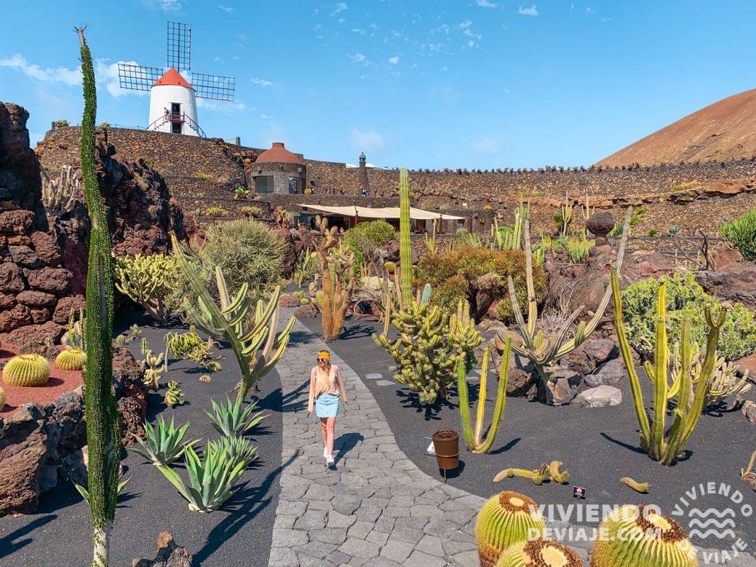 Lanzarote en 4 días | Jardín del Cactus