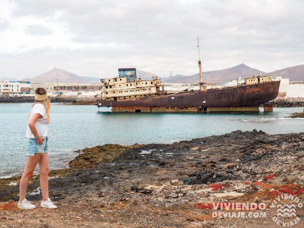 Barco de Telamon en Lanzarote