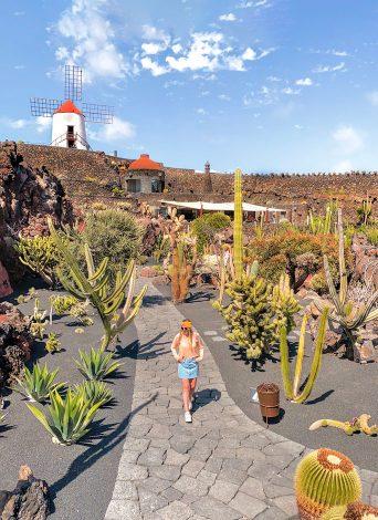 Lanzarote en 4 días, ruta diaria