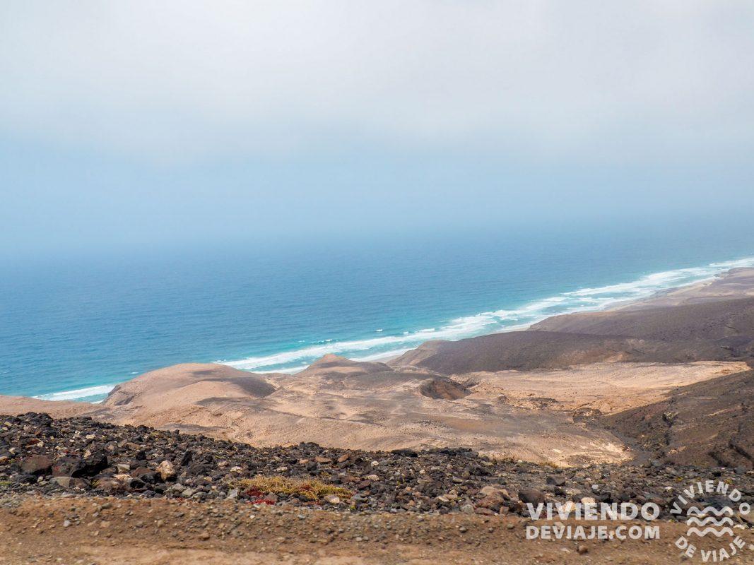 Paisajes en la carretera de Cofete | Fuerteventura en 4 días