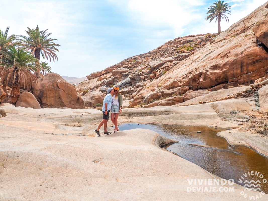 Barranco de las Peñitas en Fuerteventura