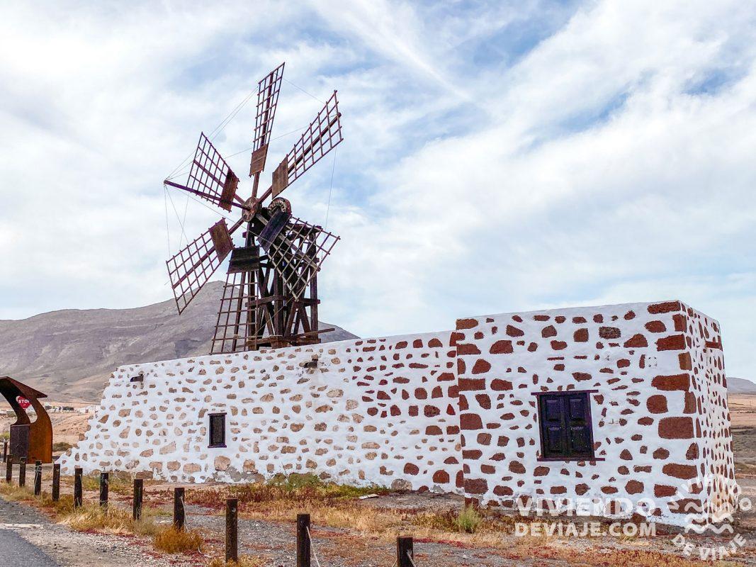 Molina de Tefía en Fuerteventura