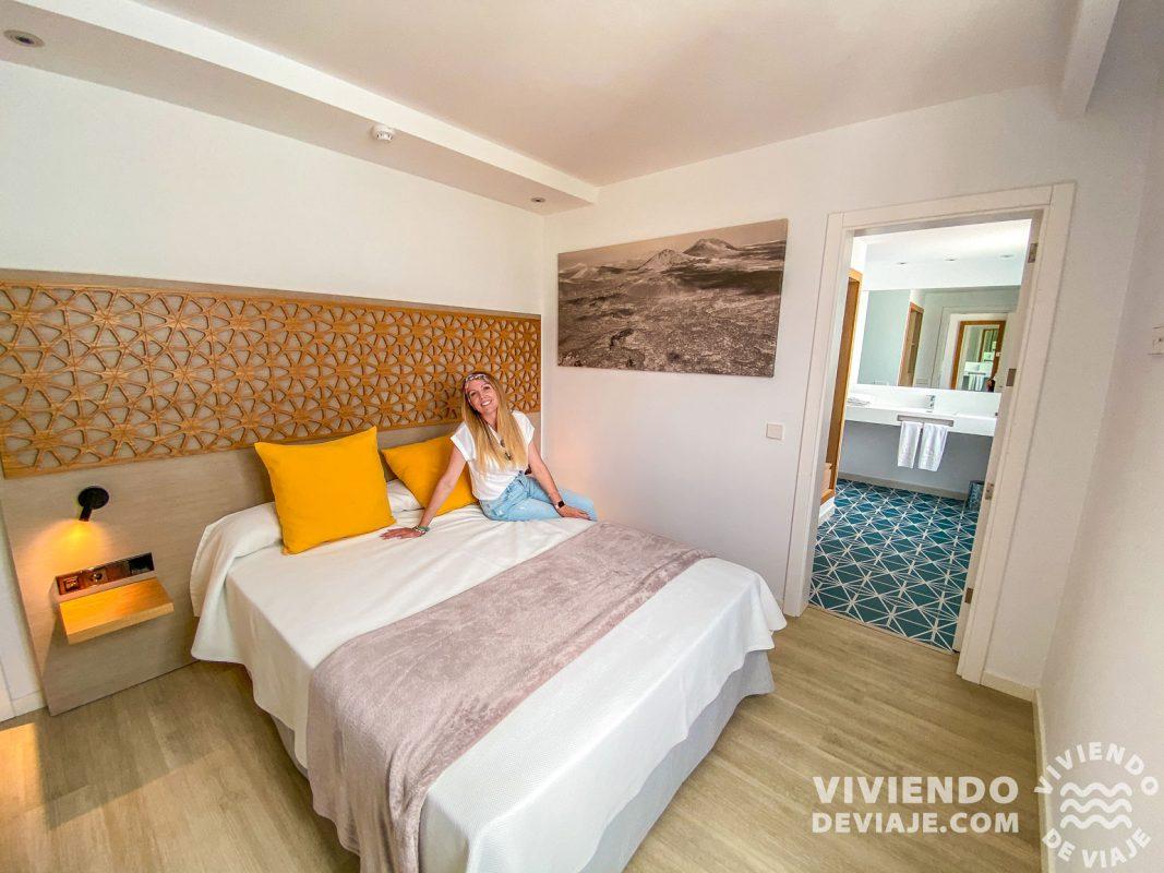 Nuestra habitación en el Oasis Lanz Beach Mate