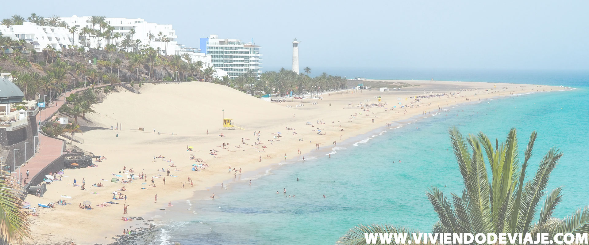 Zonas donde alojarse en Fuerteventura