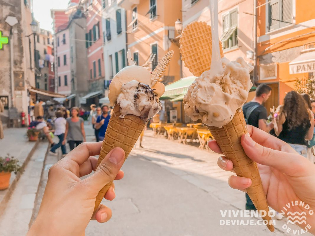 Qué hacer en Cinque Terre, ¡probar los gelatos!