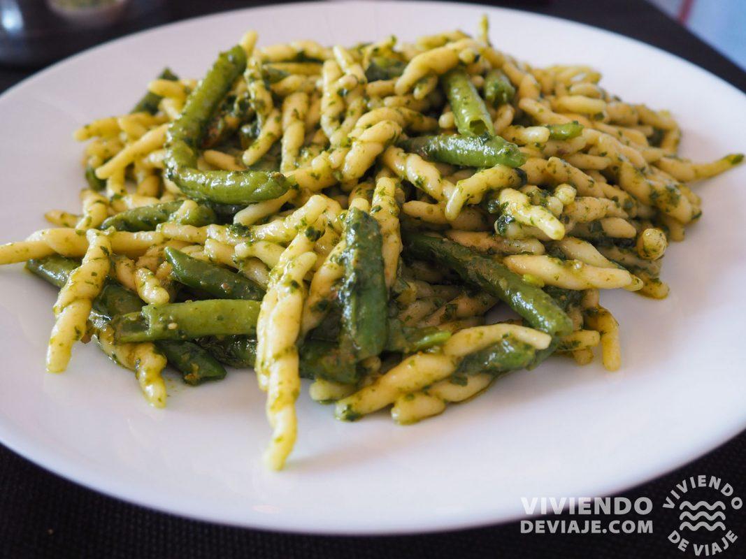 Que hacer en Cinque Terre, probar la pasta típica