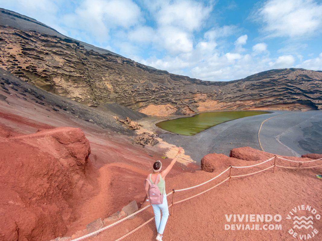 Lago Verde o Charco de los Clicos, lugares que ver en Lanzarote