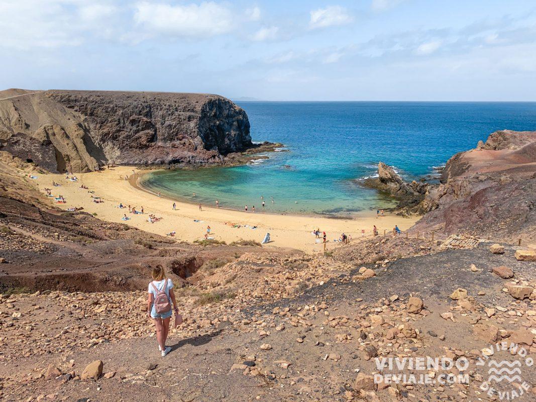 Que ver en Lanzarote, playa del Papago