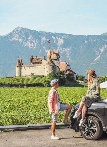 Gran Ruta de Suiza en coche